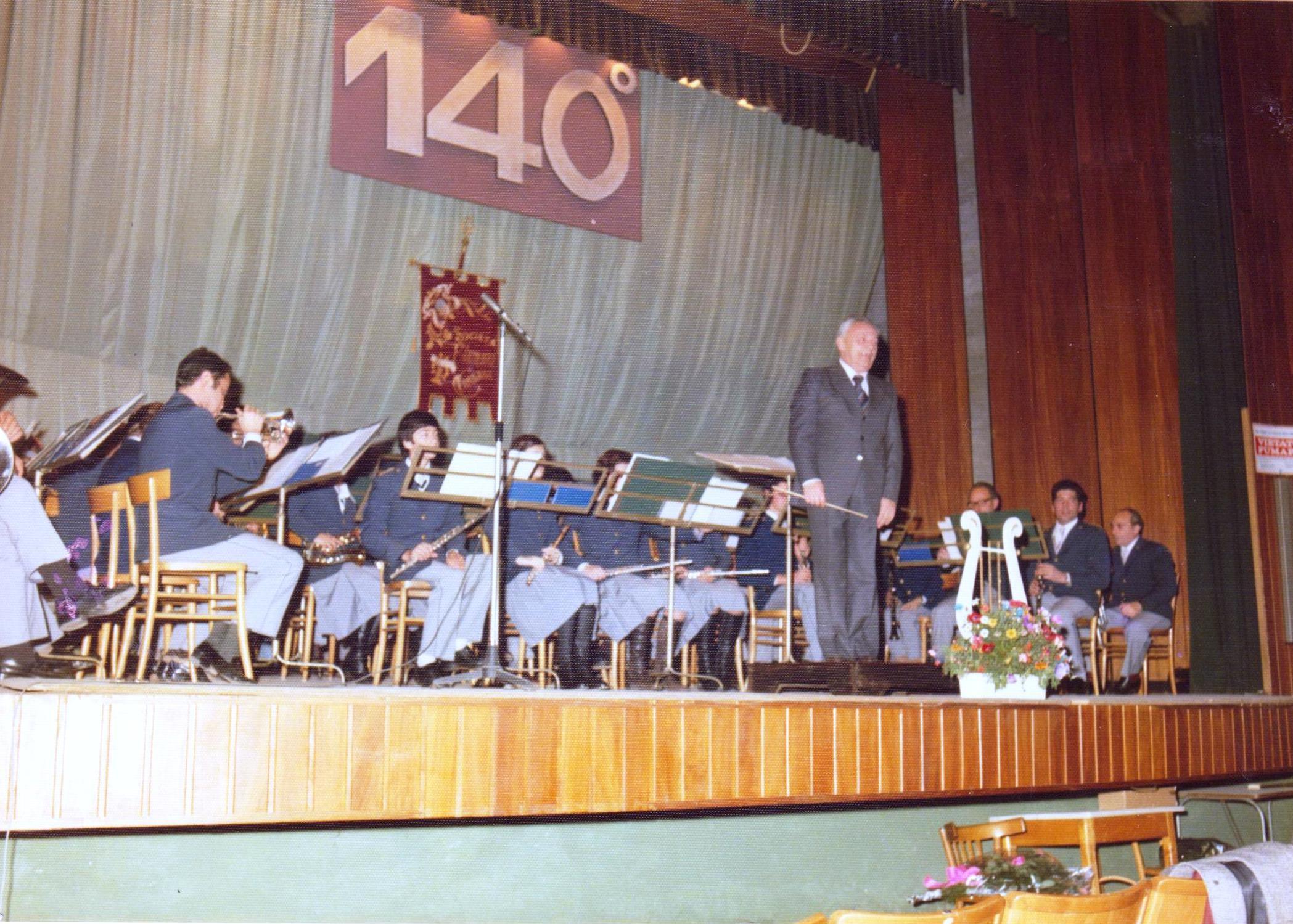 Santa Cecilia 1977, 140esimo anniversario della Società