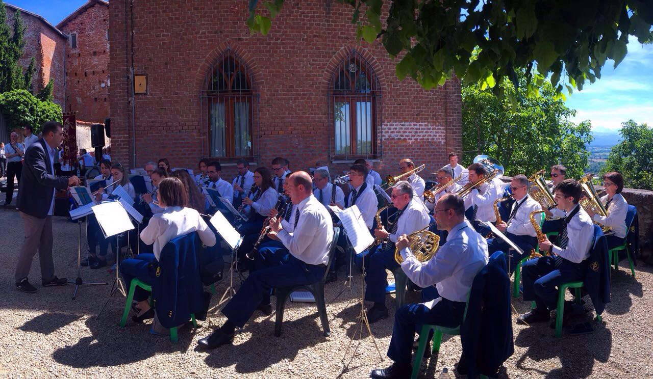 La Banda in esibizione