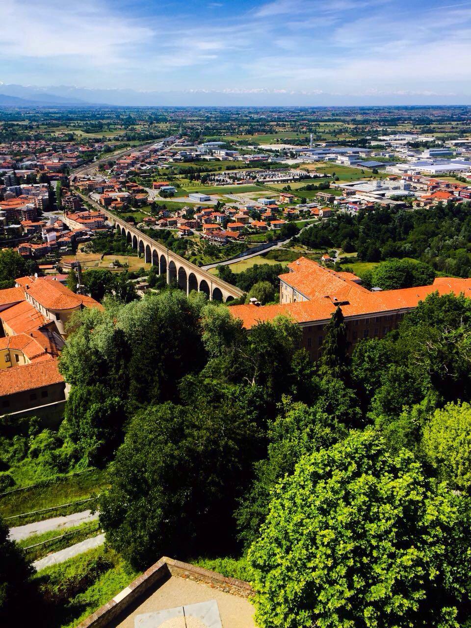 Vista di Mondovì dal Belvedere